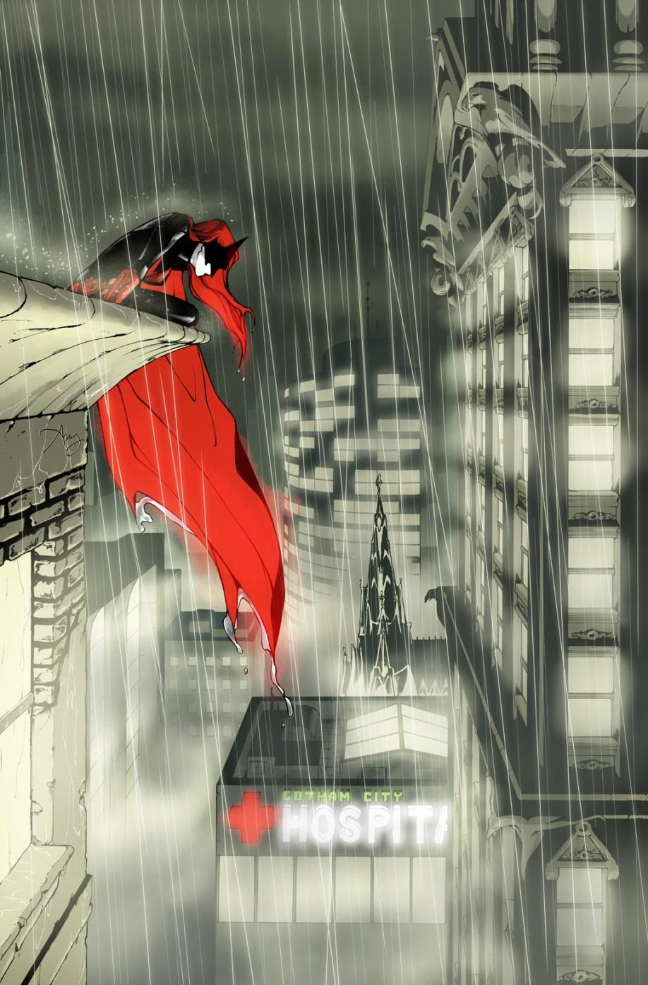 Batwoman Rain
