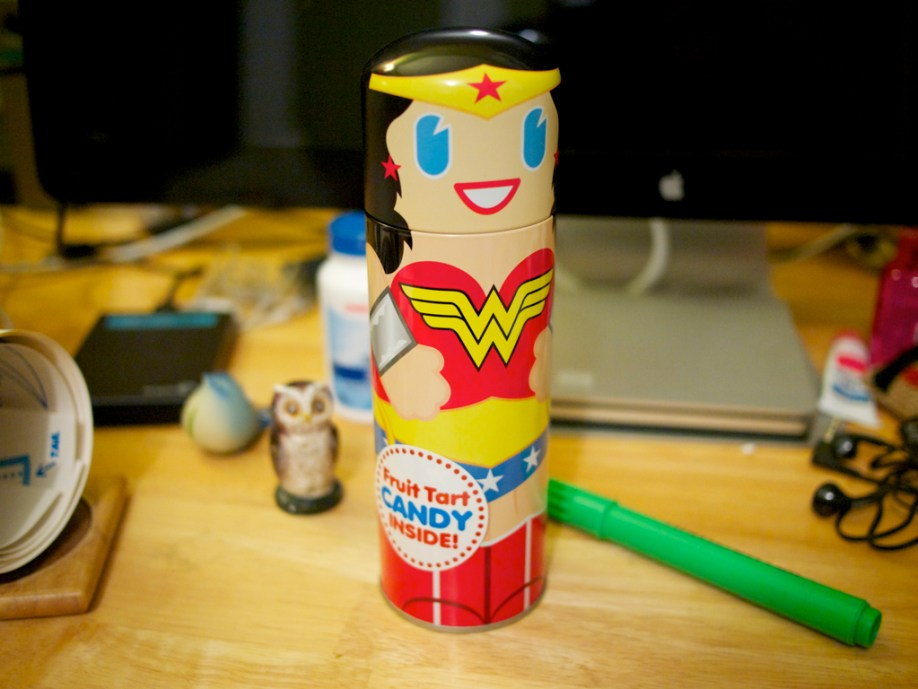 Wonder Woman Candy Can