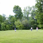 Frisbee with friends