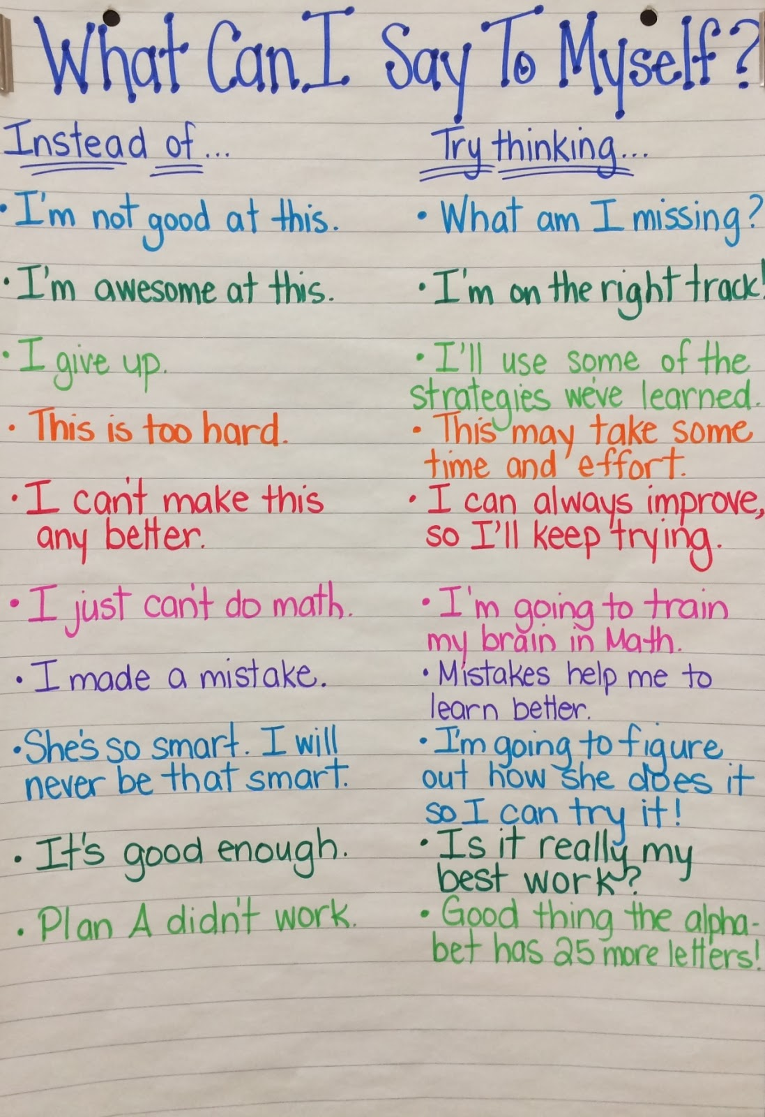 Intro To Growth Mindset 6th Grade 2 Lessons