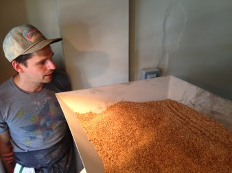 red turkey wheat in the mill