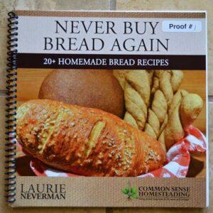 Never Buy Bread Again Bread Book