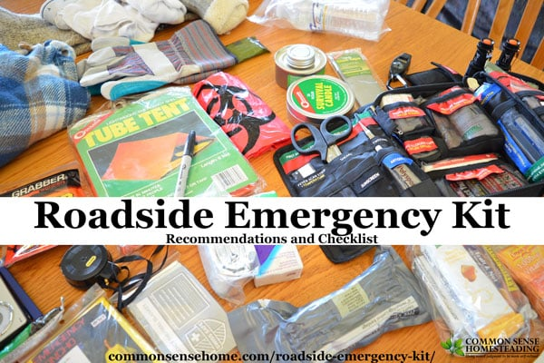 """The best roadside emergency kit for your vehicle depends on your driving needs. In this post we list """"must have"""" items for every vehicle, as well as other tools and supplies that are helpful for a variety of emergencies. Choose the items that make sense for your vehicle, and keep them organized in a backpack or tote."""