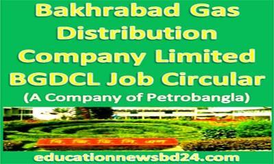 Bakhrabad Gas Distribution Company BGDCL Job