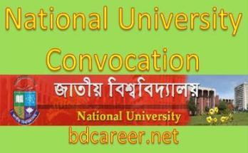 National University 1st Convocation 2017