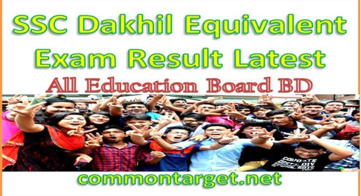 SSC Dakhil Vocational Result 2020