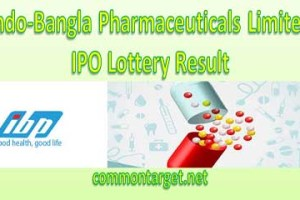 Indo Bangla Pharmaceuticals Limited IPO Lottery Result