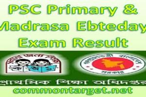 PSC Primary & Madrasa Ebtedayi Exam Result