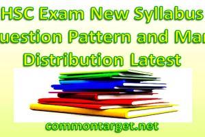 HSC Exam 2019 New Syllabus
