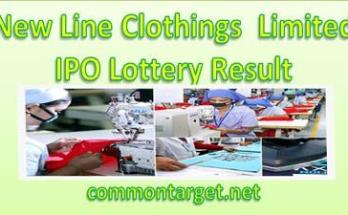 New Line Clothing Limited IPO Lottery Result