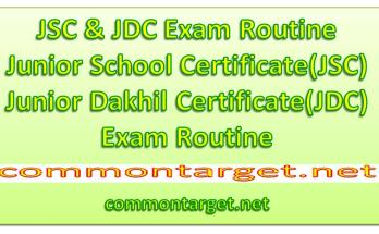 JDC Exam Routine 2020