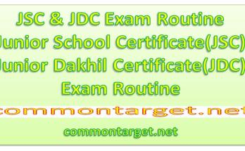 JSC Exam Routine 2020