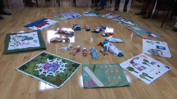 Bosnia dolls and story cloths