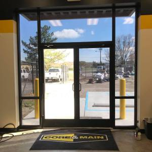 commercial window tinting, core and main, commonwealth window tinting