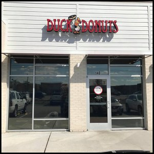 commercial window tinting, duck donuts chesapeake virginia