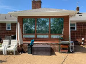 home window tinting a sunroom in virginia beach virginia to get rid of heat and glare