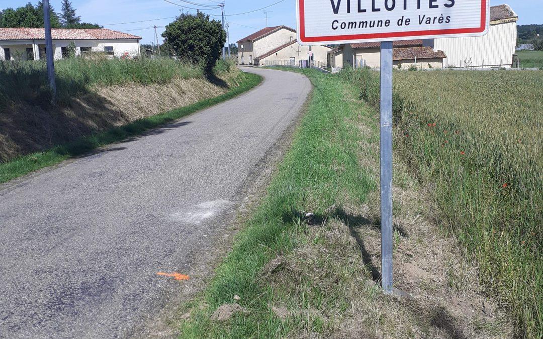 VILLOTTES COMMUNE DE VARES