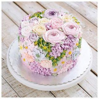 母の日にレシピいらず!?絞るだけで簡単に花のデコレーションケーキ