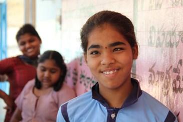 Sandya una de las estudiantes del ID Center.