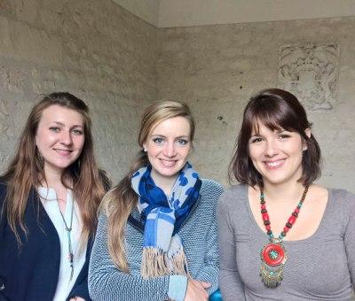 L'équipe communicante de l'Abbaye aux Dames
