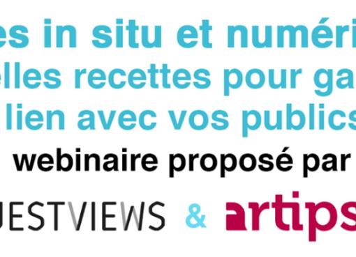 """Musées in situ et numériques : quelles recettes pour garder le lien avec vos publics ?"""""""