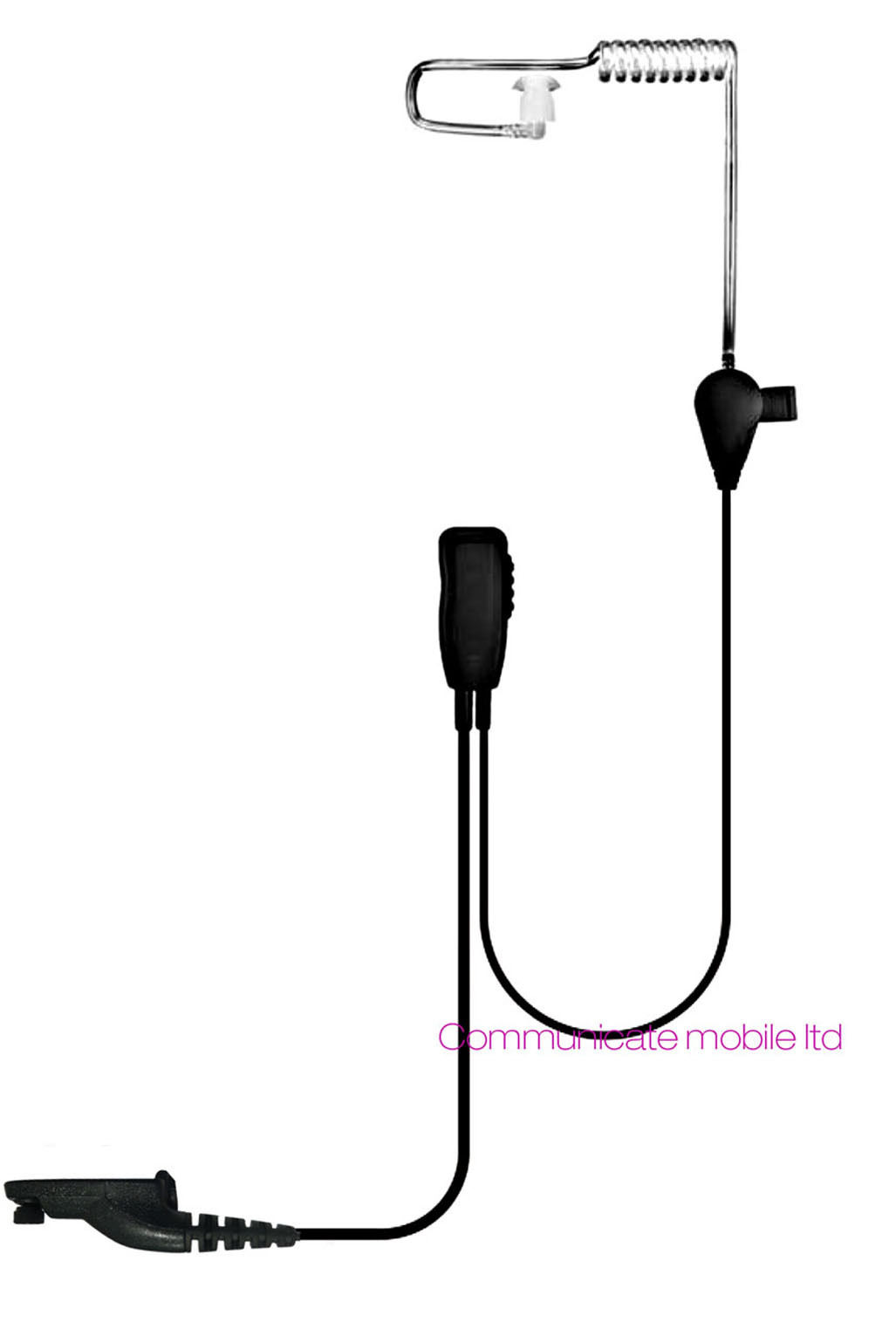 Motorola Dp Uhf Digital Covert Earpiece Kevlar