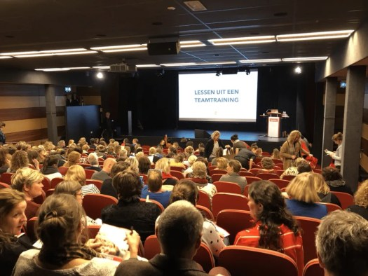 Gevulde zaal op conferentie IB dag 2019