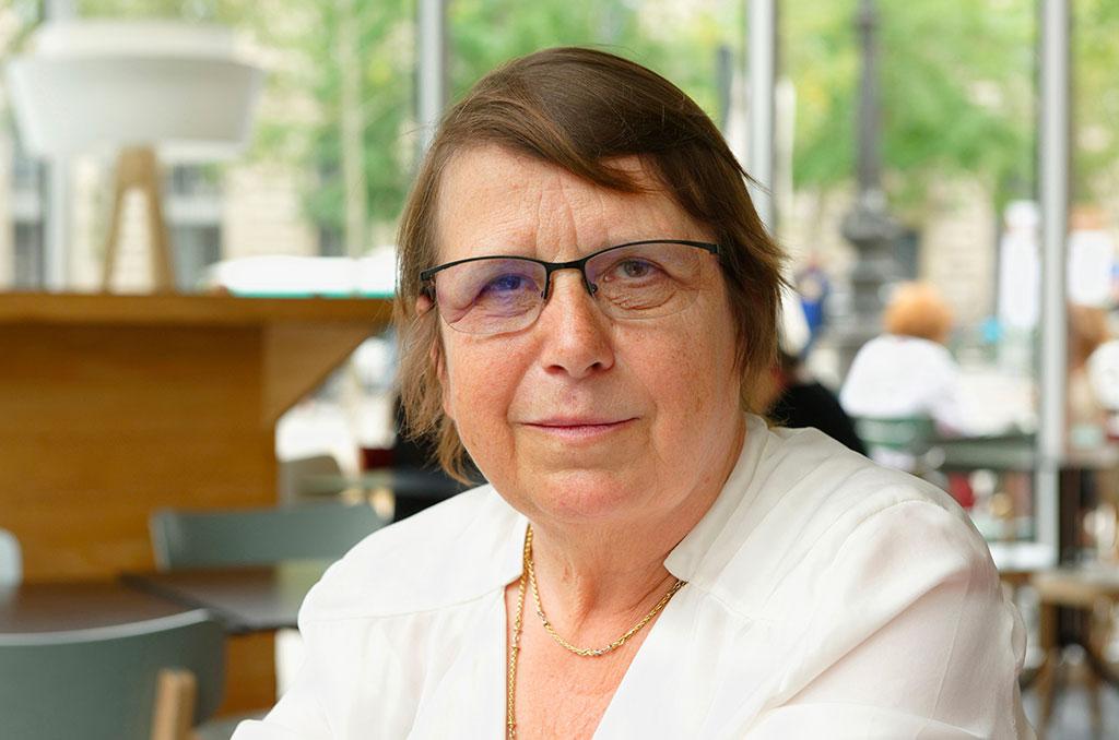 Marie-Noelle Auberger, ancienne secrétaire nationale de la CFDT Cadres (1993-2011). ©Bertrand de Camaret/CCAS
