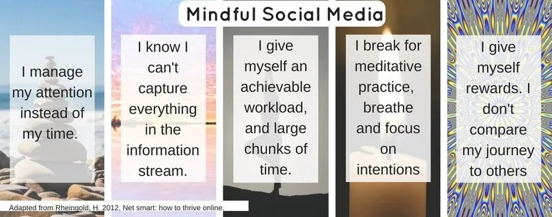 My mindful social media use