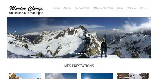 Site Marine Clarys Guide de Haute Montagne Vésubie