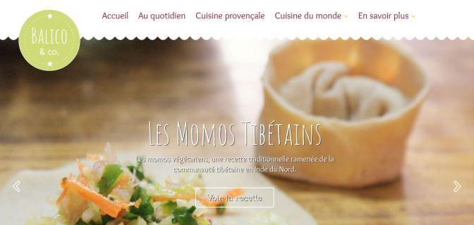 Blog de cuisine Balico & co par Commlunication Hors Piste