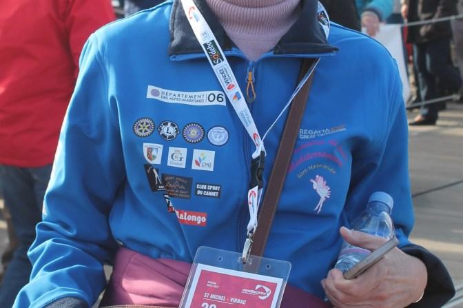 Flocage de veste Association les Premières de Cordée pour le départ du Vendée Globe 2016