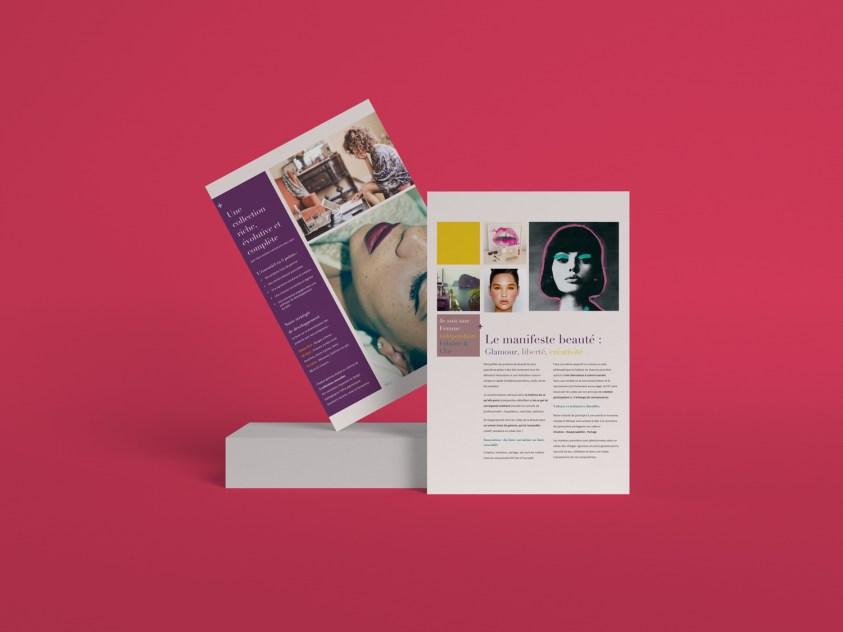 Concept gamme cosmétique DIY @ Paris, France