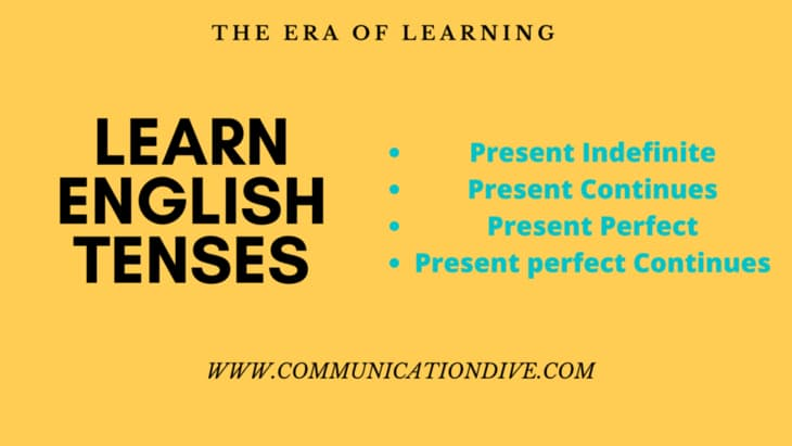 LEARN ENGLISH TENSES
