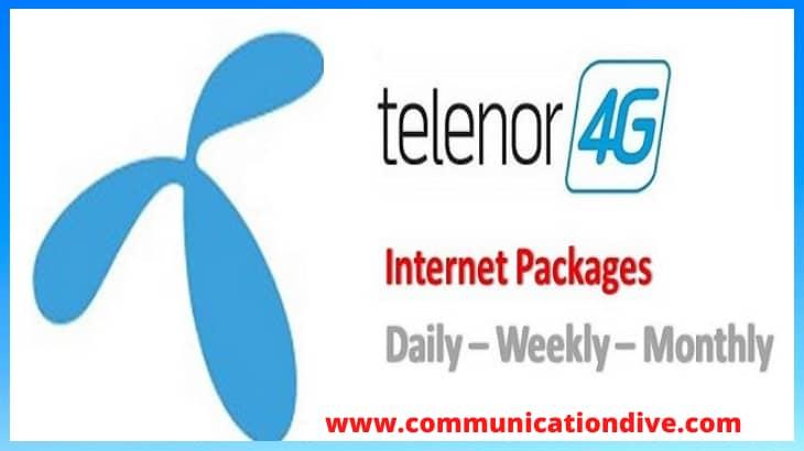 TELENOR WEEKLY 4G/ INTERNET PACKAGES