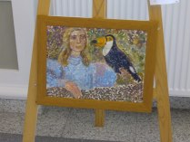 Amalia Crisan DA-DA Art Exhibition, 2013 / Credit: communicationxdevelopment.wordpress.com