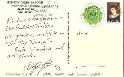Meine besondere Star Trek Postkarte