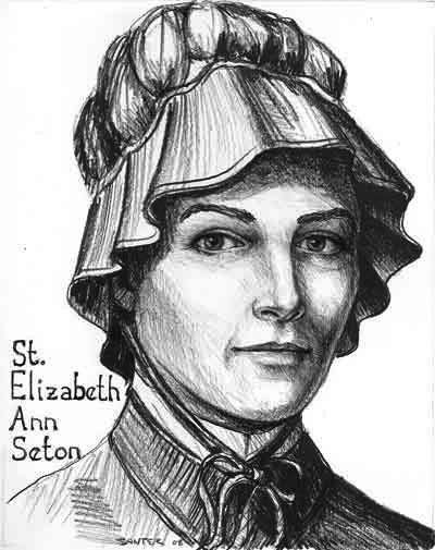 Image result for Mother Elizabeth Ann Seton