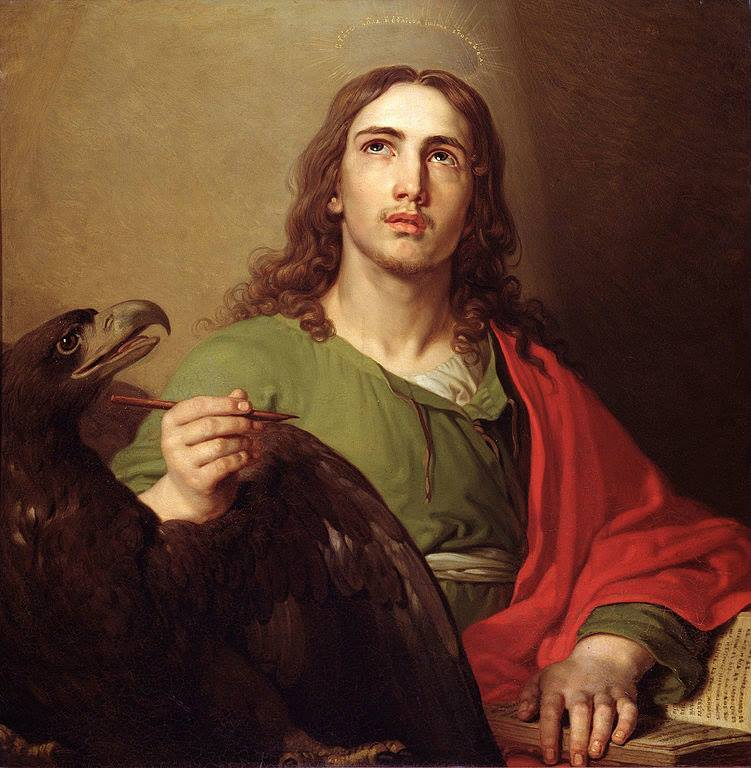 Image result for image of john the evangelist