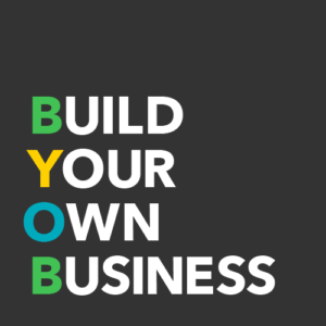 Build Your Own Business in colorful text
