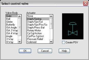 How To Add New Actuators For Control Valves [TN]  AutoPLANT | AXSYS | OpenPlant | PlantWise