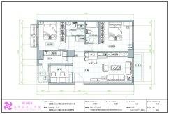 CAD專業工程製圖2D室內設計成果發表-04林倢妤