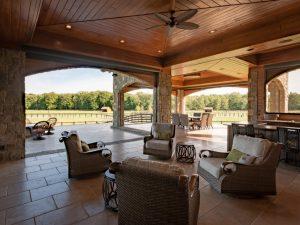 exterior cedar siding on home