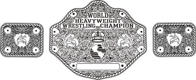 Wrestling Belt Line Art Help Urgent CorelDRAW X7