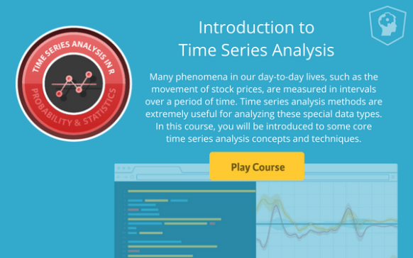New Course: Introduction to Time Series Analysis | R-bloggers