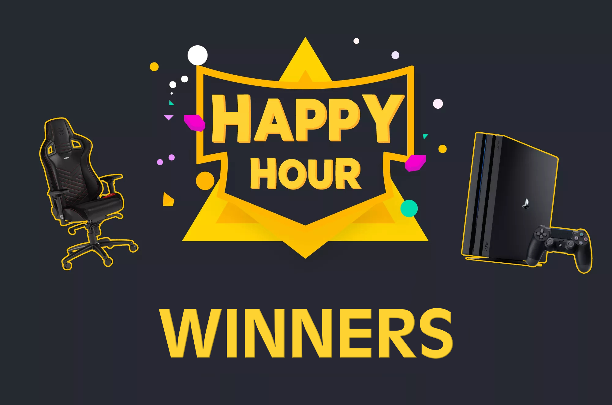 Happy Hour Winners · DLive Community