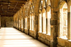 Durham Cathedral Cloister, interior