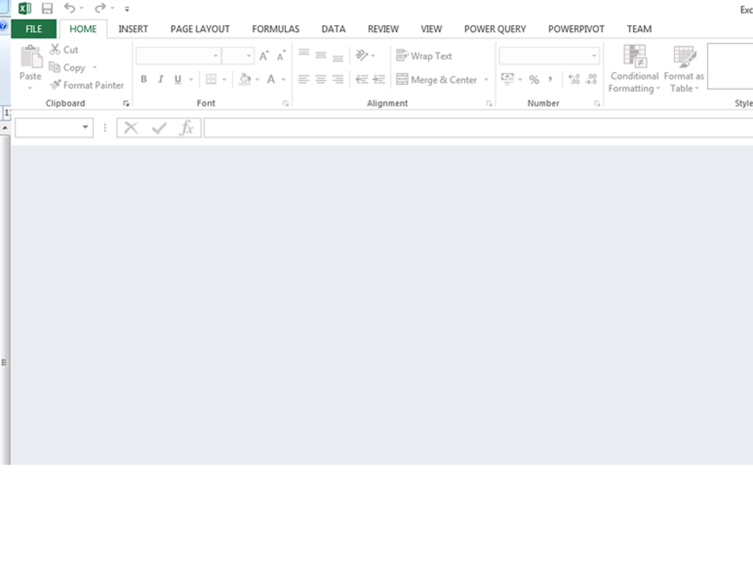 Export To Excel Produces Blank Sheet And Ribbon Disabled