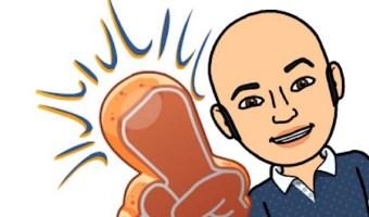 Bitmoji de Enrique San Juan para redes sociales