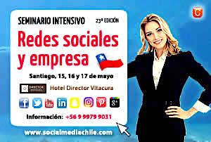 Edicion 23 Redes Sociales y Empresa Seminario Intensivo Community Internet Enrique San Juan 300